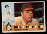 1960 Topps #12  Milt Pappas  Front Thumbnail