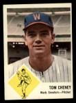 1963 Fleer #27  Tom Cheney  Front Thumbnail