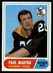 1968 Topps #111  Paul Martha  Front Thumbnail