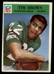 1966 Philadelphia #135  Tim Brown  Front Thumbnail