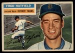 1956 Topps #318  Fred Hatfield  Front Thumbnail