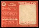 1958 Topps #87  Bob Walston  Back Thumbnail