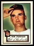 1952 Topps REPRINT #120  Bob Chakales  Front Thumbnail