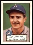 1952 Topps REPRINT #34  Elmer Valo  Front Thumbnail