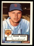 1952 Topps REPRINT #146  Frank House  Front Thumbnail