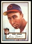 1952 Topps Reprints #382  Sam Jones  Front Thumbnail