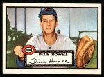 1952 Topps Reprints #135  Dixie Howell  Front Thumbnail