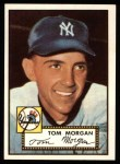 1952 Topps Reprints #331  Tom Morgan  Front Thumbnail