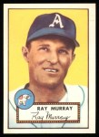 1952 Topps REPRINT #299  Ray Murray  Front Thumbnail