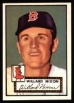 1952 Topps Reprints #269  Willard Nixon  Front Thumbnail