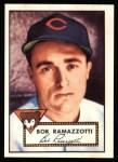 1952 Topps REPRINT #184  Bob Ramazzotti  Front Thumbnail