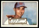 1952 Topps REPRINT #110  Dutch Leonard  Front Thumbnail