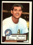 1952 Topps REPRINT #112  Hank Majeski  Front Thumbnail