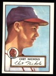 1952 Topps Reprints #288  Chet Nichols  Front Thumbnail