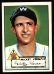 1952 Topps REPRINT #106  Mickey Vernon  Front Thumbnail