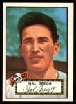 1952 Topps REPRINT #318  Harold Gregg  Front Thumbnail