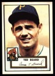 1952 Topps REPRINT #150  Ted Beard  Front Thumbnail