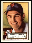 1952 Topps REPRINT #124  Monte Kennedy  Front Thumbnail