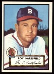1952 Topps REPRINT #264  Roy Hartsfield  Front Thumbnail