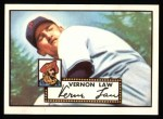 1952 Topps REPRINT #81  Vern Law  Front Thumbnail
