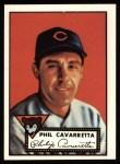 1952 Topps REPRINT #295  Phil Cavarretta  Front Thumbnail