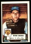 1952 Topps REPRINT #192  Myron Ginsberg  Front Thumbnail