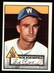 1952 Topps REPRINT #301  Bob Porterfield  Front Thumbnail