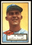 1952 Topps Reprints #319  Al Walker  Front Thumbnail