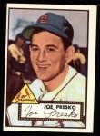 1952 Topps REPRINT #220  Joe Presko  Front Thumbnail