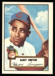 1952 Topps REPRINT #193  Harry Simpson  Front Thumbnail