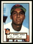 1952 Topps Reprints #257  Bobby Avila  Front Thumbnail