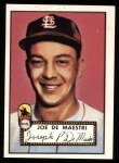1952 Topps REPRINT #286  Joe DeMaestri  Front Thumbnail