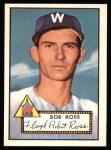 1952 Topps Reprints #298  Bob Ross  Front Thumbnail