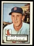 1952 Topps REPRINT #404  Dick Brodowski  Front Thumbnail