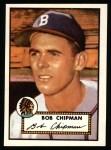 1952 Topps REPRINT #388  Bob Chipman  Front Thumbnail