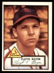 1952 Topps REPRINT #280  Cloyd Boyer  Front Thumbnail