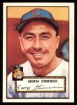 1952 Topps REPRINT #217  Snuffy Stirnweiss  Front Thumbnail