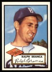 1952 Topps Reprints #274  Ralph Branca  Front Thumbnail