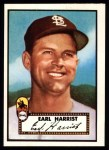 1952 Topps REPRINT #402  Earl Harrist  Front Thumbnail