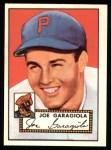 1952 Topps Reprints #227  Joe Garagiola  Front Thumbnail
