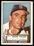1952 Topps REPRINT #327  Al Wilson  Front Thumbnail