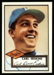 1952 Topps REPRINT #250  Carl Erskine  Front Thumbnail