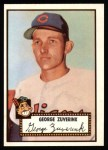 1952 Topps REPRINT #199  George Zuverink  Front Thumbnail
