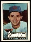 1952 Topps REPRINT #322  Randy Jackson  Front Thumbnail