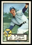 1952 Topps Reprints #133  Al Widmar  Front Thumbnail