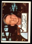 1952 Topps REPRINT #341  Hal Jeffcoat  Front Thumbnail