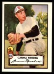 1952 Topps REPRINT #174  Clarence Marshall  Front Thumbnail
