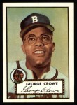 1952 Topps Reprints #360  George Crowe  Front Thumbnail