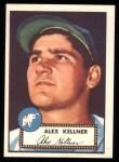 1952 Topps REPRINT #201  Alex Kellner  Front Thumbnail