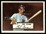 1952 Topps REPRINT #291  Gil Coan  Front Thumbnail